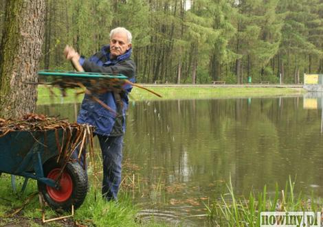 oczyszczanie zbiornika Balaton